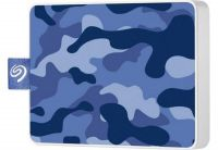Накопитель внешний SSD USB  500GB Seagate One Touch Camo Blue (STJE500406)