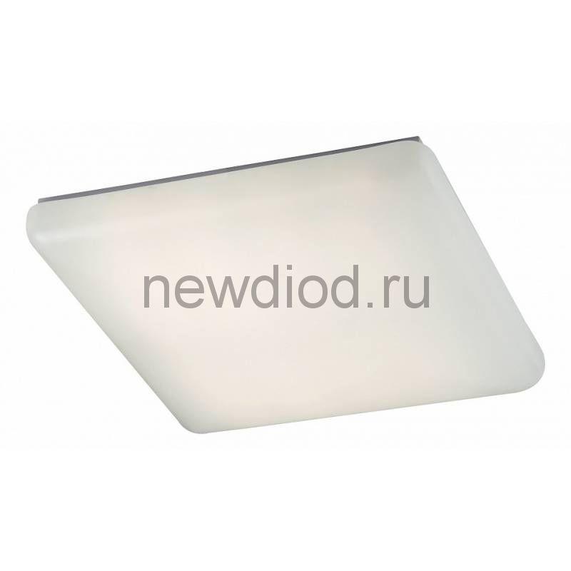 Управляемый светодиодный светильник Quadro 628 40Вт-3200Лм 400мм 6/3/4000K пульт Oreol