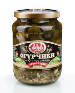 Огурцы ДОБРОВИТА 720мл Консервированные Хрустящие