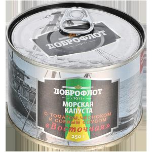 Салат из морской капусты ДОБРОФЛОТ Восточный 250г