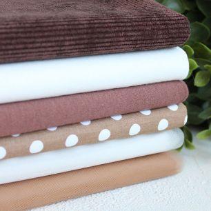 Набор тканей для пошива Горячий какао