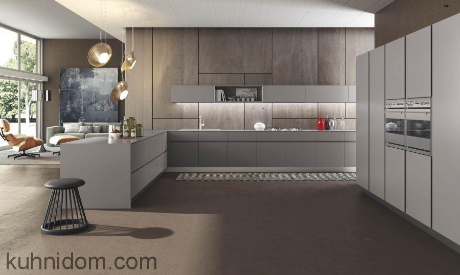Кухня Fenix NTM 0718 Grigio Londra
