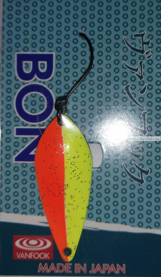 Блесна колеблющаяся Troutland Bon 3,8 гр / цвет:  22