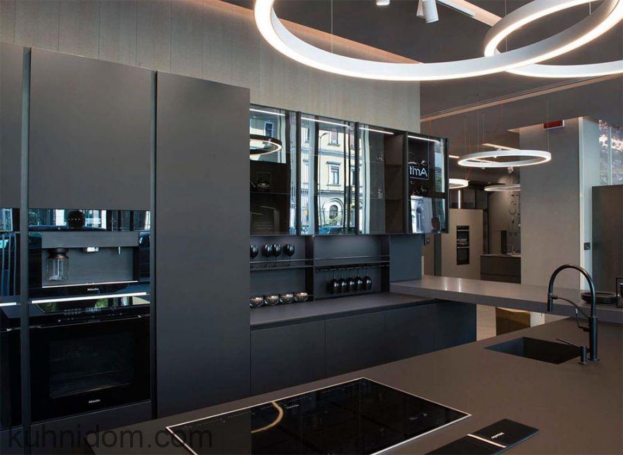 Кухня Fenix NTM 0720 Nero Ingo
