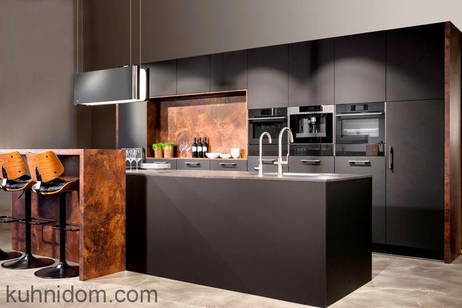 Кухня Fenix NTM 2630 Piombo Doha