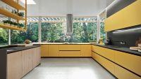 Кухня Fenix NTM Bloom 0772 Giallo Kashmir