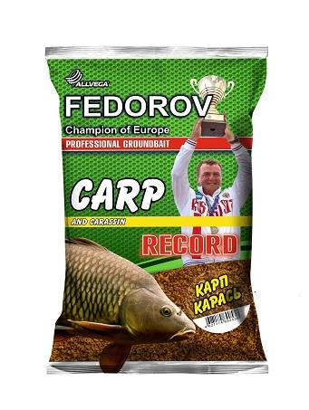"Прикормка ALLVEGA ""FEDOROV RECORD"" 1 кг КАРП КАРАСЬ"