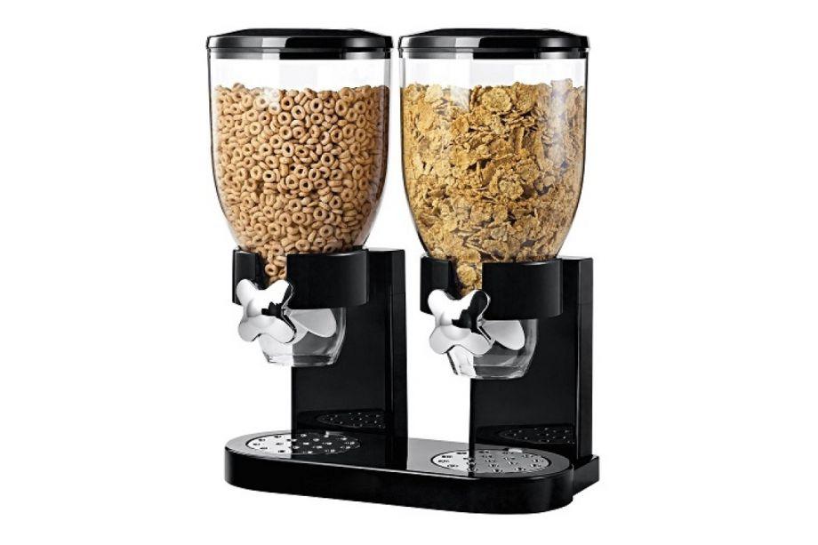 Двойной дозатор для круп и готовых завтраков Cereal Dispenser
