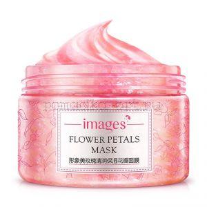Гелевая маска с лепестками роз Bioaqua Images Flower Petals Mask Rose