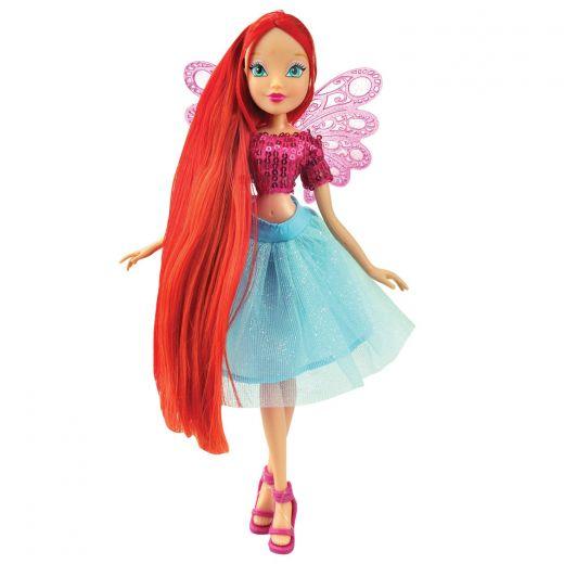 Кукла Winix Kids Рыжая фея с крыльями