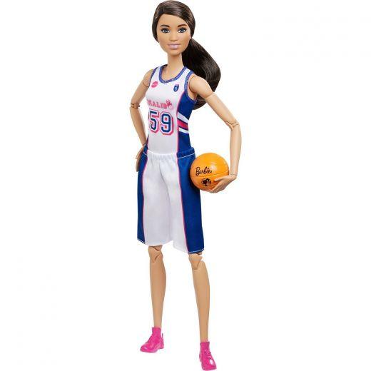 Кукла Barbie Kids скорее на баскетбол!
