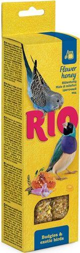 Палочки РИО для волнистых попугайчиков и экзотов с медом 2х40 гр