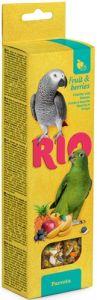 Палочки РИО для попугаев с фруктами и ягодами 2х90 гр