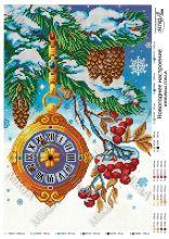 MikaA-2006 Мика. Новогоднее Настроение. А3 (набор 1350 рублей)