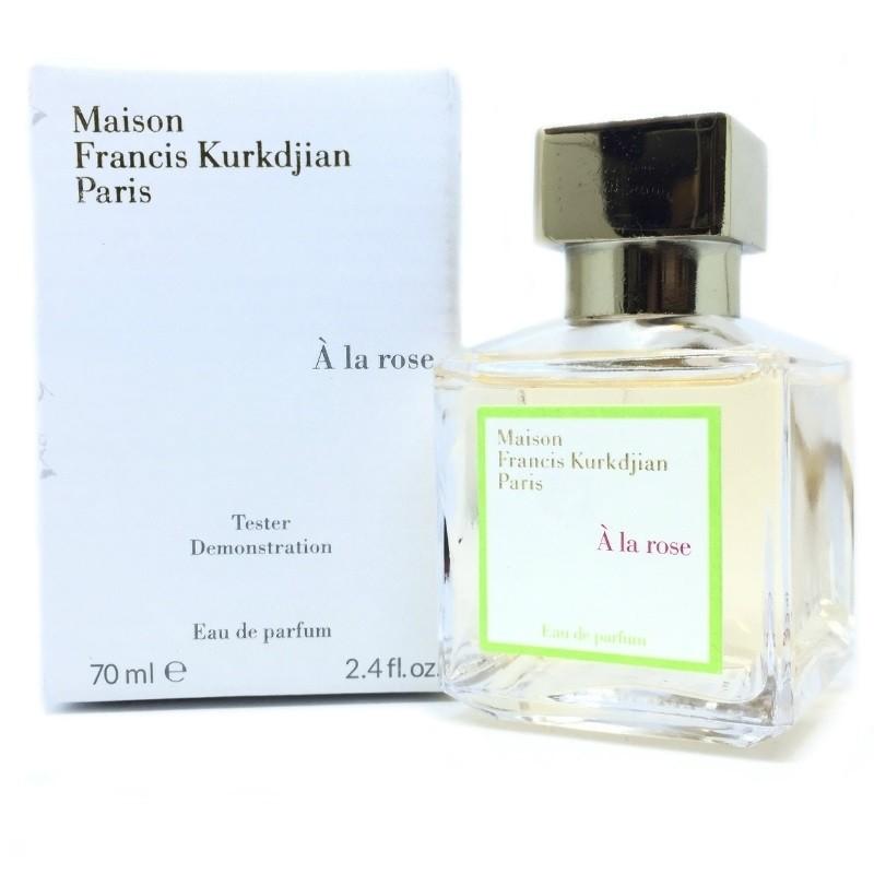 """Тестер Maison Francis Kurkdjian """"A la Rose"""" 70 мл (для женщин)"""