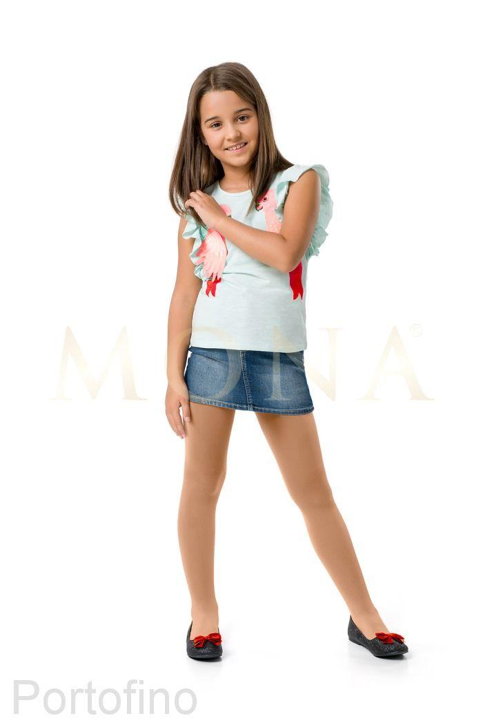 MONA Zoya 20 den детские колготки телесные