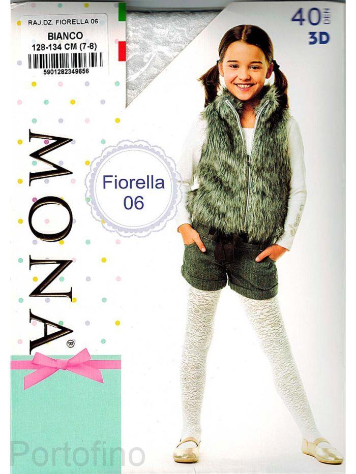 Fiorella 06 детские колготки Mona 40 DEN