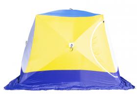 Палатка СТЭК КУБ 4 Т трехслойная дышащая