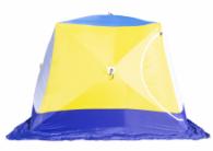 Палатка зимняя СТЭК КУБ 4 Т трехслойная дышащая