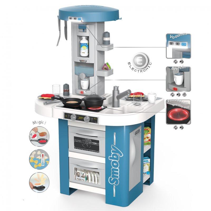 Кухня интерактивная Tech Edition 35 акс. Smoby 311049