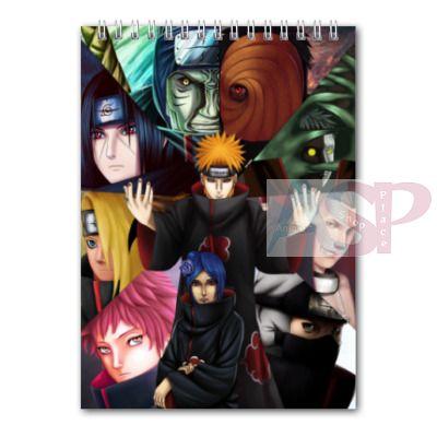 Блокнот Naruto
