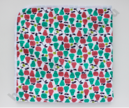 Впитывающая пеленка Яблоки и груши  (микрозамша) 74*74