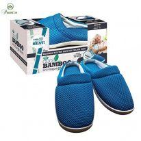Бамбуковые тапочки Cool Bamboo Anti-Fatigue Gel Slippers, размер 43-44