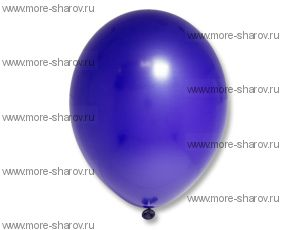 "Шар 14""(34см) Belbal Night Blue 105"