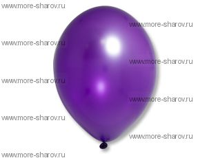 "Шар 14""(32см) Belbal Purple 062 Металлик"