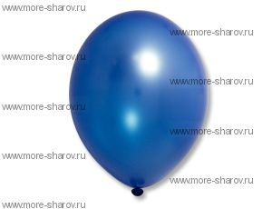 "Шар 14""(32см) Belbal Blue 065 Металлик"