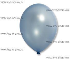 """Шар 14""""(32см) Belbal Light Blue 073 Металлик"""