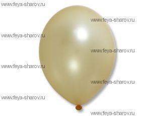 "Шар 14""(32см) Belbal Peach 075 Металлик"