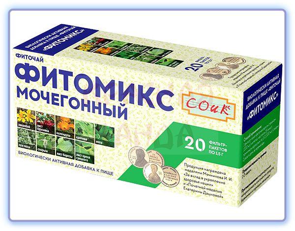 Фиточай Фитомикс Мочегонный СОИК