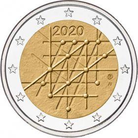 100 лет со дня основания Университета Турку 2 евро Финляндия 2020