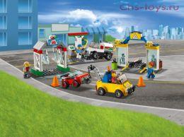 Конструктор LARI Cities Автостоянка 11391 (Аналог LEGO City 60232) 258 дет