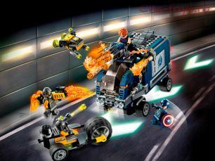 Конструктор Lari Супер Герои Мстители: Нападение на грузовик 11506 (76143) 501 дет