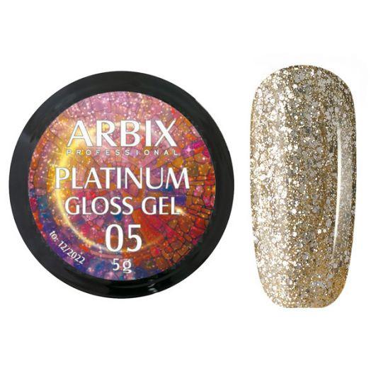 PLATINUM GLOSS GEL ARBIX 05 5 г