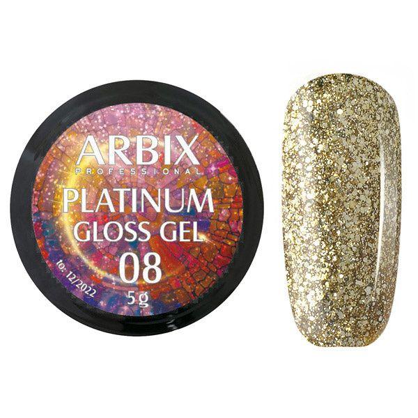 PLATINUM GLOSS GEL ARBIX 08 5 г