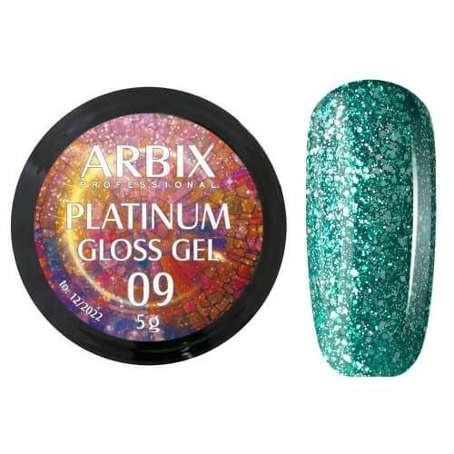 PLATINUM GLOSS GEL ARBIX 09 5 г