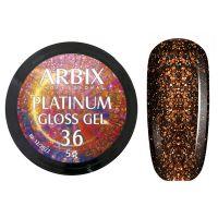 PLATINUM GLOSS GEL ARBIX 36 5 г