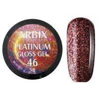 PLATINUM GLOSS GEL ARBIX 46 5 г