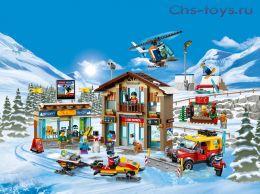 Конструктор LARI Cities Горнолыжный курорт 11451 (Аналог LEGO City 60203) 868 дет