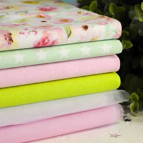 Набор тканей для пошива Свежее утро