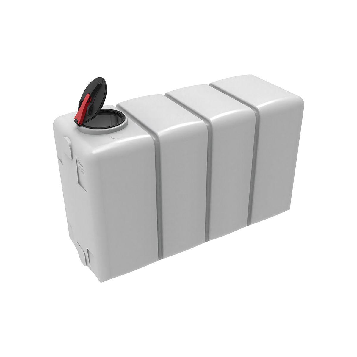 Емкость KR 4000 белая с откидной крышкой без обрешетки