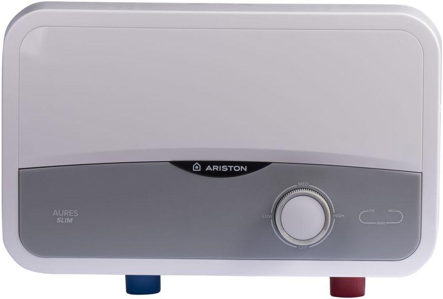 Проточный электрический водонагреватель Ariston Aures S 3.5 COM PL (3520010)