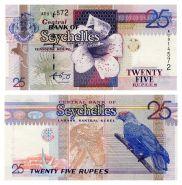 Сейшелы / Сейшельские острова - 25 рупий. 1988. UNC ПРЕСС