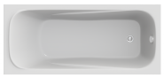Акриловая ванна BAS Кварта 180х80