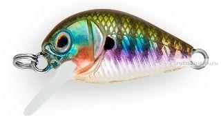 Воблер Strike Pro Crazy Plankton 21 мм / 1,3 гр / Заглубление: 0 - 0,4 м / цвет:  630V Bluegill