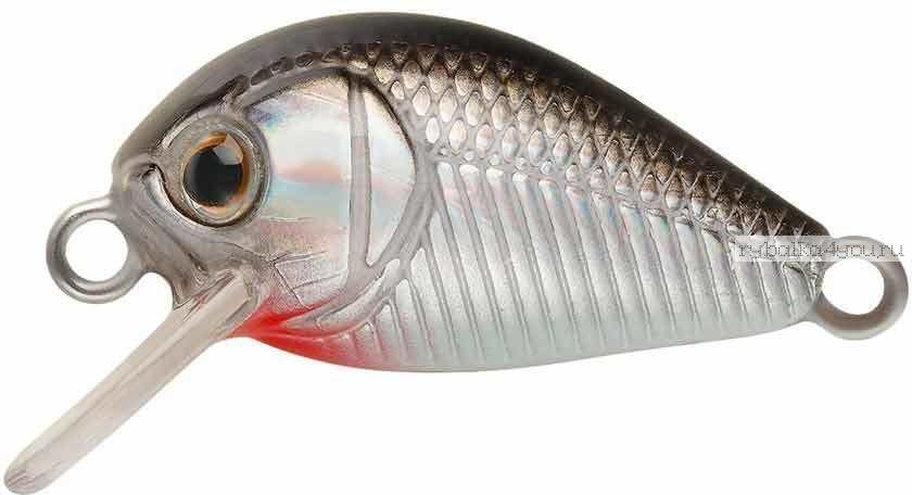 Воблер Strike Pro Crazy Plankton 21 мм / 1,3 гр / Заглубление: 0 - 0,4 м / цвет:  A010-EP Black Back Silver