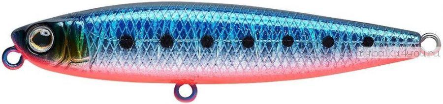 Воблер Strike Pro Slide Bait Heavy One 90 мм / 20 гр / цвет:  A234-SBO-LU Blue Back Silver OB Fluo, светящийся